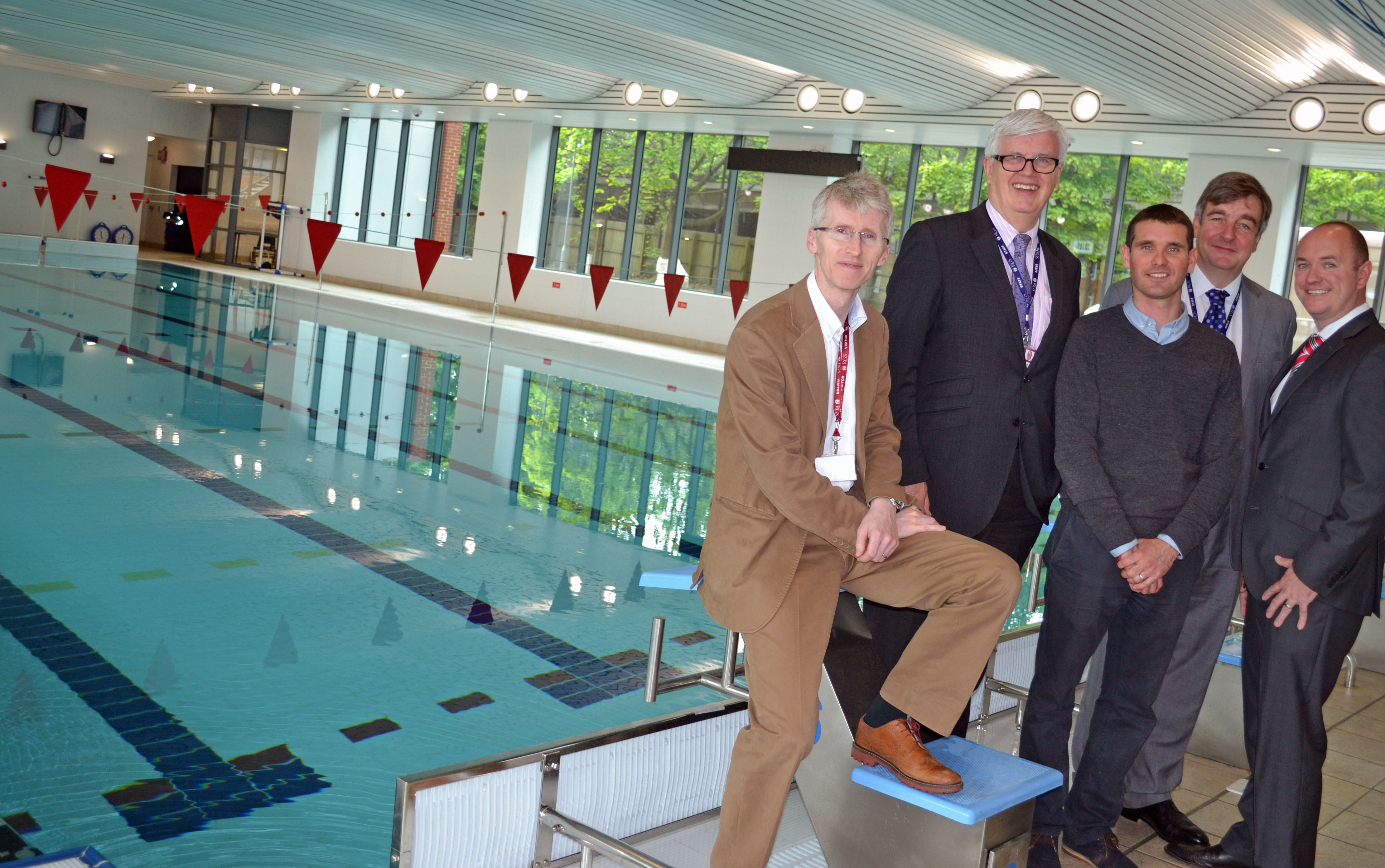 Rgs completes latest phase of development surgo construction for Latest swimming pool